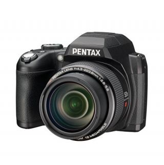 Pentax XG-1 16 Digital Camera with 52x Optical Image Stabilized Zoom with 3-Inch