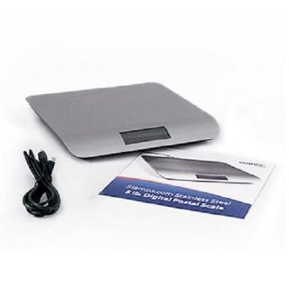Stamps.com Stainless Steel 5 lb. Digital Postal Scale