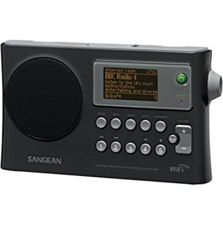 SANGEAN WFR-28 Wi-Fi FM-RDS Network Music Player/USB Portable Radio consumer ele