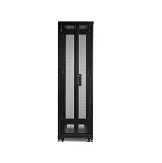Netshelter Sv 42U 600Mm Wide X 1060Mm Deep Enclosure With Sides, Black, Single R