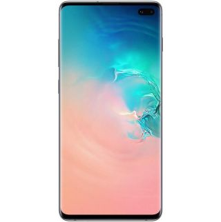 "Samsung Galaxy S10+ Plus (6.4"", 512GB/8GB) - Porcelain White"