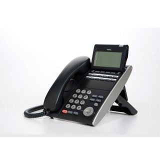 NEC DTL-12D-1 (BK) - DT330 - 12 Button Display Digital Phone Black Stock# 680002
